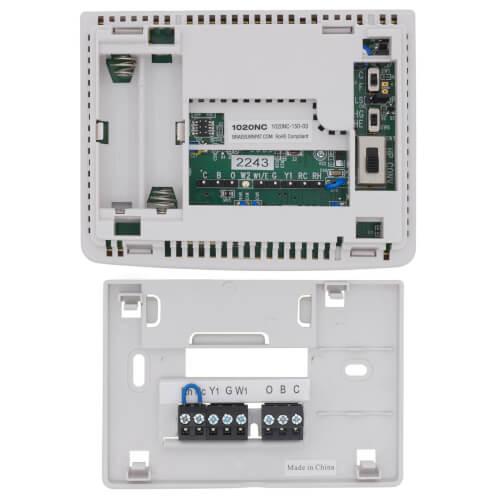 1020NC - Braeburn 1020NC - Single-Stage Dual Powered ThermostatSupplyHouse.com