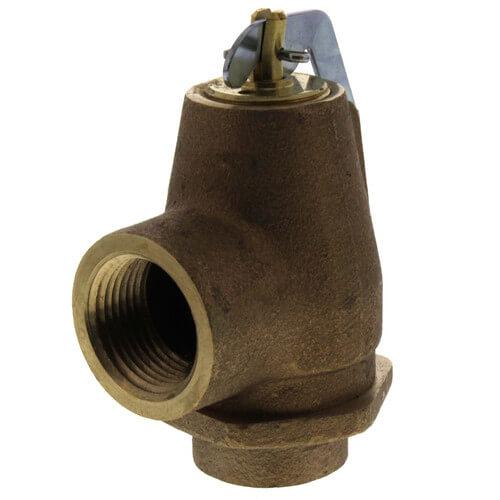 "3/4"" FNPT RVW10 805,000 BTU Bronze Relief Valve (50 psi) Product Image"