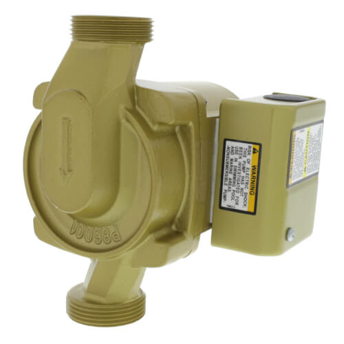 1/25 HP, NBF-22U Bronze Circulator Pump, Lead Free Product Image