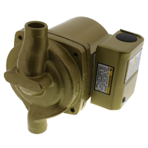 1/40 HP, NBF-10S/LW Bronze Circulator Pump, Lead Free Product Image