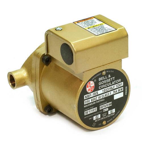 1/25 HP, NBF-18S Bronze Circulator Pump, Lead Free Product Image