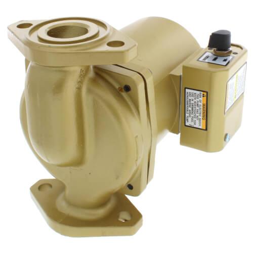 1/6 HP, NBF-36 3-Speed Bronze Circulator Pump, Lead Free Product Image