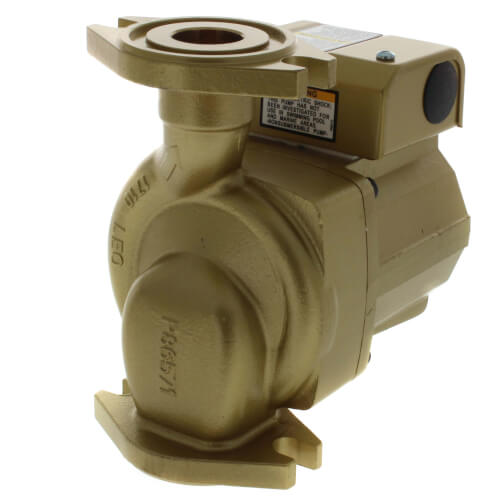 1/15 HP, NBF-25 3-Speed Bronze Circulator Pump Product Image
