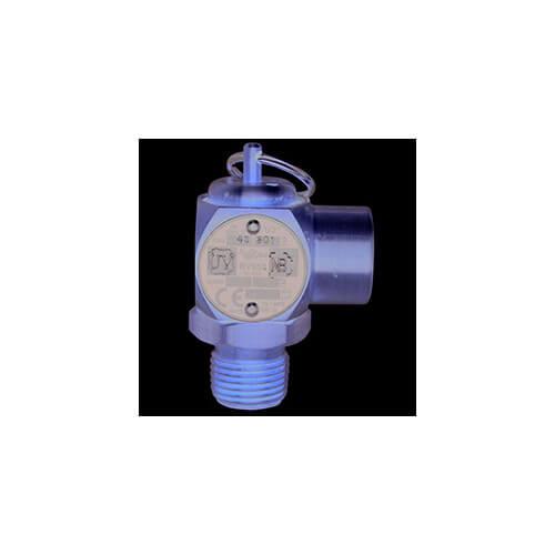 "1/2"" MNPT x 1/2"" FNPT RVS52 232 LBS/HR Steam Safety Relief Valve (30 psi) Product Image"