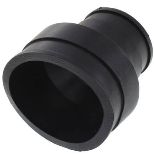 """3"""" x 2"""" Unbanded Flexible Coupling (Cast Iron or PVC to Cast Iron or PVC) Product Image"""