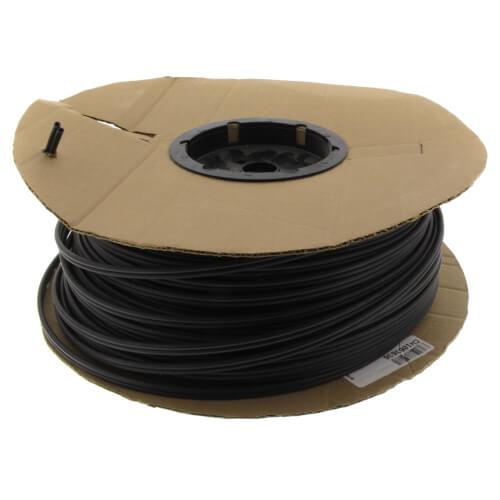 "5/32"" Plexco Pneumatic Tubing - Twin Tube, Black, 500' Product Image"