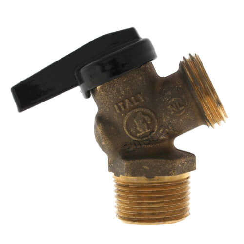 """R-670 3/4"""" MNPT x MGHT Forged Brass Boiler Drain Ball Valve (Lead Free) Product Image"""