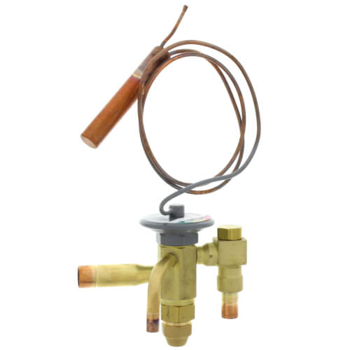 "SBFSE-A-C 3/8"" x 1/2"" ODF Thermal Expansion Valve w/ 30"" Capillary (1/2 - 1 Ton) Product Image"