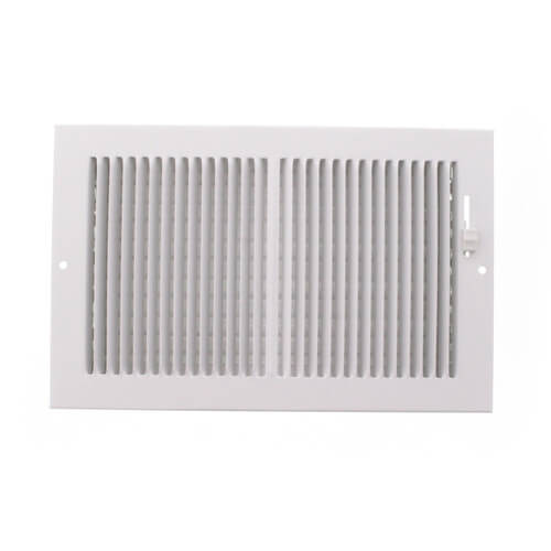 """10"""" x 6"""" White Baseboard Register (664 Series) Product Image"""