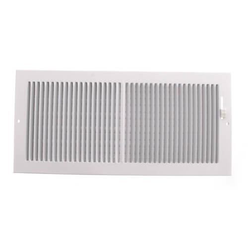"""14"""" x 6"""" White Baseboard Register (664 Series) Product Image"""