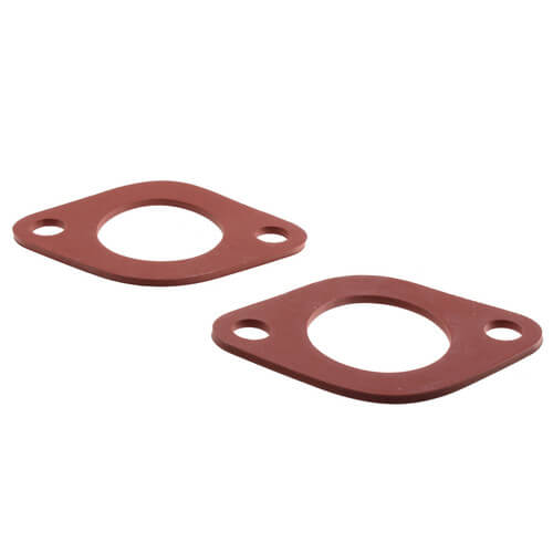 "1/8"" Red Rubber Flange Gasket (Pack of 2) Product Image"