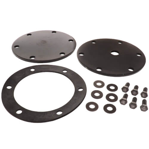 Tapped Heater Cover Plate - w/ Gasket & bolts for 5B, V7, V8, IND 4B & V3 Boilers Product Image