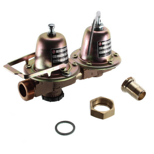 F-3TU Dual Unit Pressure Reducing Valve w/ Fast Fill Feature (Lead Free) Product Image