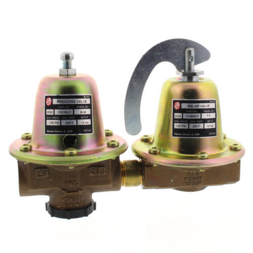 Model 8 Dual Unit Pressure Reducing Valve (Lead Free) Product Image
