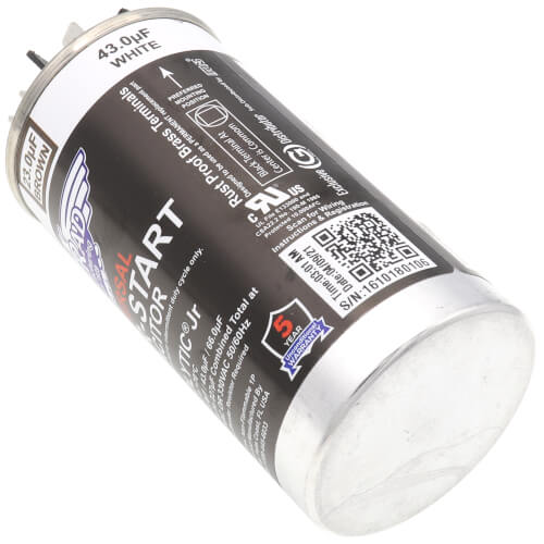 23-208 MFD Turbolytic JR Universal Replacement Capacitor (125-330V)