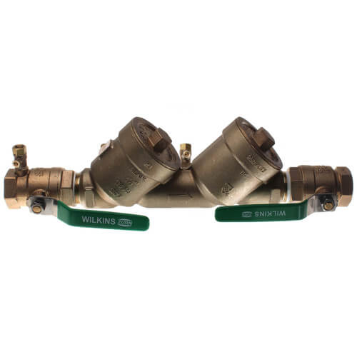 """1-1/2"""" Lead Free Wilkins 950XLT2 Double Check Valve Assembly Product Image"""