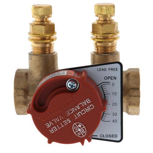 "CB-1/2 Lead Free Circuit Setter Balance Valve, 1/2"" (NPT) Product Image"