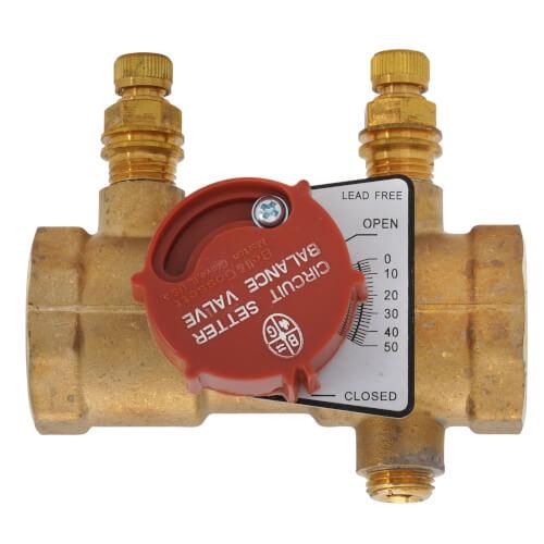 "CB-1 Lead Free Circuit Setter Balance Valve, 1"" (NPT) Product Image"