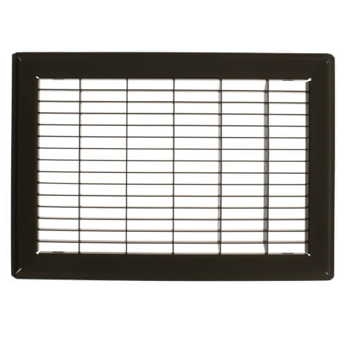 "8"" x 12"" (Wall Opening Size) Golden Sand Floor Return Air Grille (265 Series) Product Image"