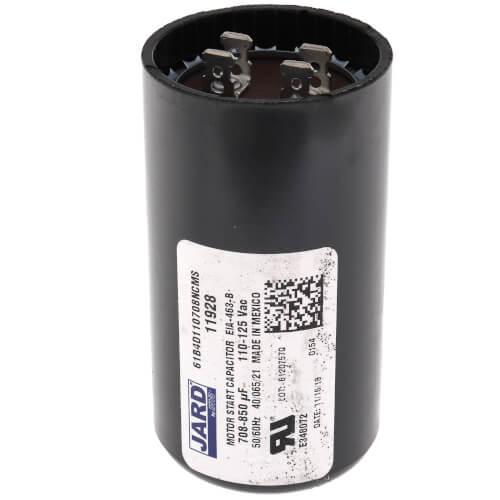 708-850 MFD Round Start Capacitor (110/125V) Product Image