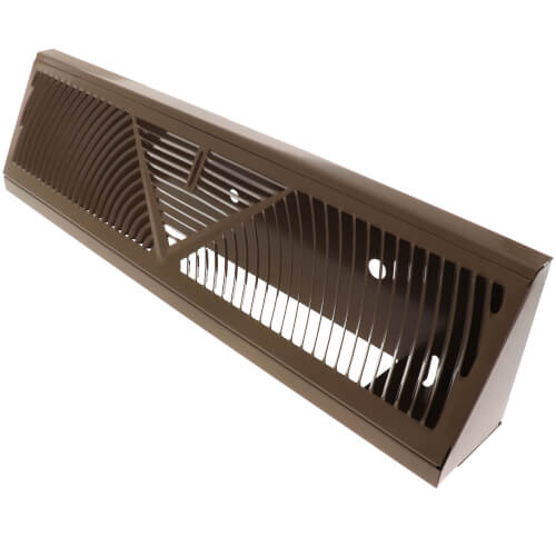 """18"""" Golden Sand Baseboard Return Air Grille (407 Series) Product Image"""