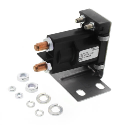 120-107112 - White Rodgers 120-107112 - Solenoid w/ Continuous Duty,  Normally Open Continuous Contact Rating 100 Amps (14 VDC Isolated Coil)SupplyHouse.com