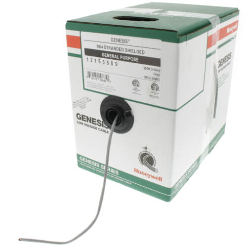 500 ft - 18/4 Stranded OAS CL2 (PVC) Honeywell Genesis Control Cable - Box Product Image