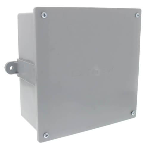 "8"" X 8"" X 4"" Sch. 40 PVC Junction Box Product Image"