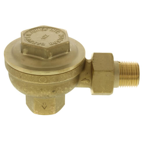 "1/2"" NPT Angle Radiator Steam Trap Product Image"