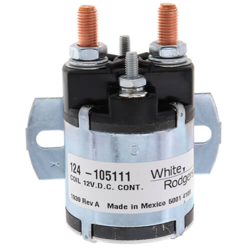 Solenoid w/ Continuous Duty, Normally Open Continuous Contact Rating 100 Amps (12 VDC Isolated Coil) Product Image