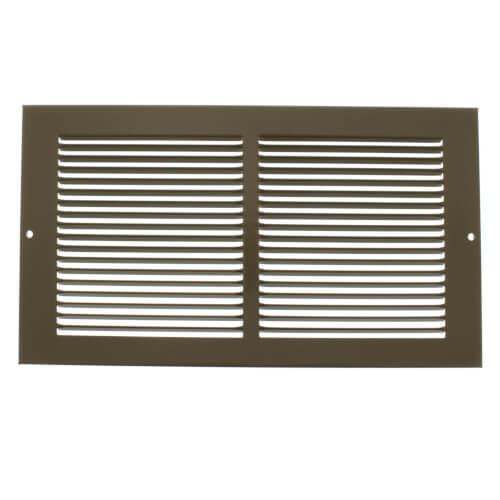 """12"""" x 6"""" Golden Sand Baseboard Return Air Grille (657 Series) Product Image"""
