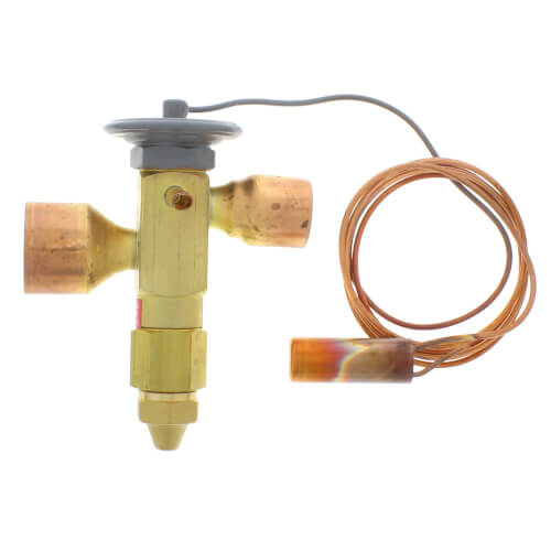 "OZE-35-GA 1-1/8"" x 1-3/8"" ODF Thermal Expansion Valve w/ 60"" Capillary (35 Ton) Product Image"
