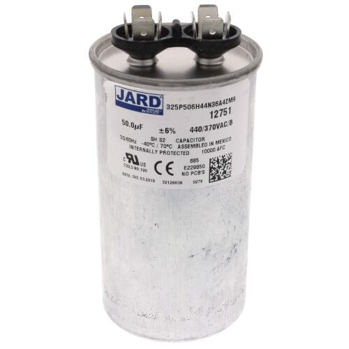 50 MFD Round Run Capacitor (440V) Product Image