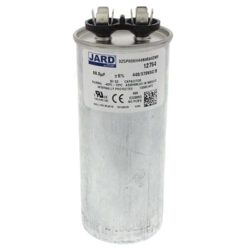 60 MFD Round Run Capacitor (440V) Product Image