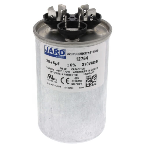 30/5 MFD Round Run Capacitor (370V) Product Image
