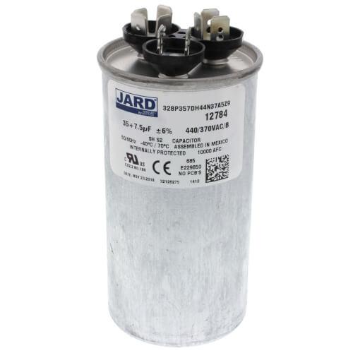 35/7.5 MFD Round Run Capacitor (440V) Product Image