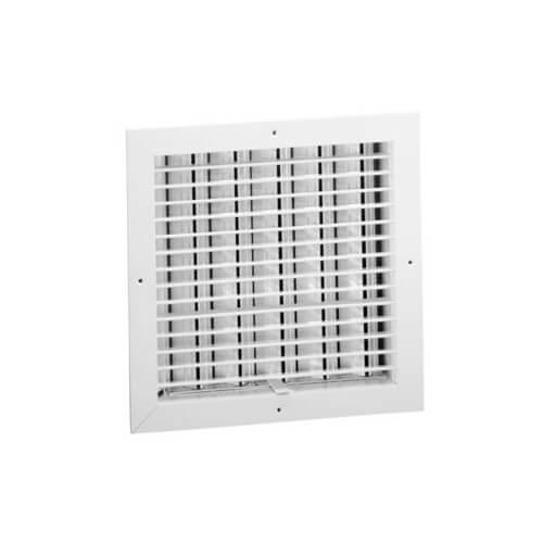 """18"""" x 18"""" Aluminum Evaporative Cooler Ceiling Diffuser w/ OBD Damper (ECFM Series) Product Image"""