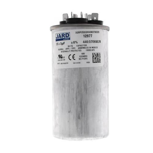 35/3 MFD Round Run Capacitor (440V) Product Image