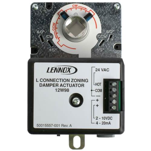 24V Non Spring Return Actuator, 4/20mA, 2/10VDC, 35 psi Product Image