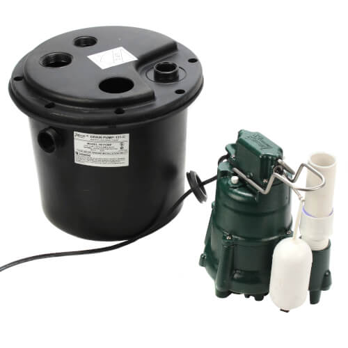 Model 131(M98) Residential Remodeling Drain Pump with 15' Cord (115v, 1/2 HP) Product Image