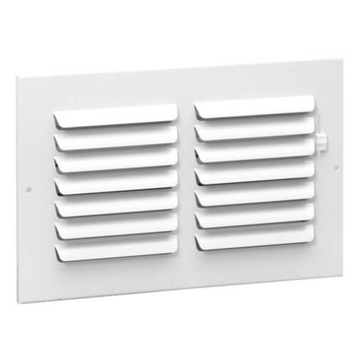 """6"""" x 6"""" (Wall Opening Size) Sidewall/Ceiling Register (301 Series) Product Image"""
