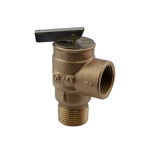 "3/4"" MNPT x 3/4"" FNPT RVS13 407 LBS/HR Low Pressure Steam Safety Relief Valve (10 psi) Product Image"