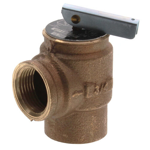 """3/4"""" FNPT RVS13 407 LBS/HR Low Pressure Steam Safety Relief Valve (15 psi) Product Image"""