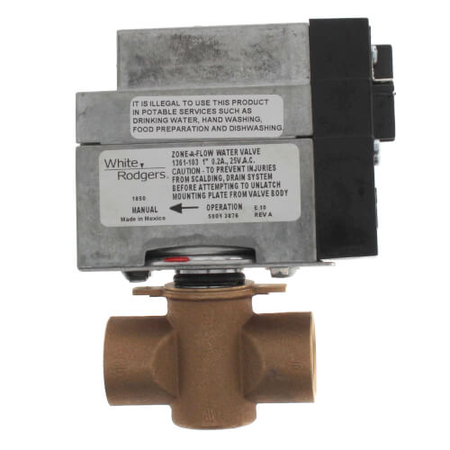 1361 103 White Rodgers 1361 103 1 Sweat Zone Valve Two Wire