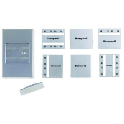 Pneumatic Thermostat Cover Kit, 15°C to 30°C (Satin Chrome) Product Image