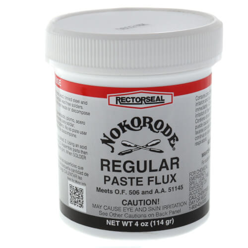 Nokorode Regular Paste Flux (4 oz.) Product Image