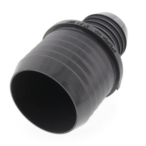 "2"" x 1-1/4"" PVC Reducer Insert Coupling (Insert x Insert) Product Image"