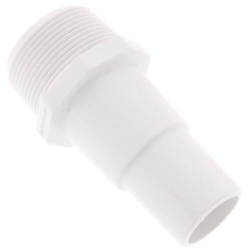 """1-1/2"""" x 1-1/2"""" x 1-1/4"""" PVC Insert Pool Adapter (MIPT x Hose ID) Product Image"""