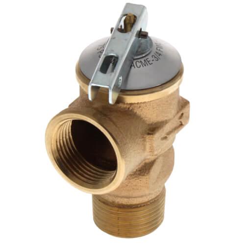 Cash Acme 14917-0075 Pressure Relief Valve Bronze
