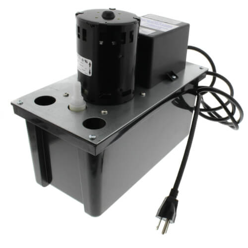 VCL-24ULS, 270 GPH Auto Condensate Removal Pump w/ Safety Switch & Tubing Product Image